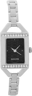 Sonata NG87005SM01AC Analog Black Dial Women's Watch