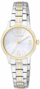 Citizen EX0294-58H Quartz Grey Round Women's Watch (EX0294-58H)