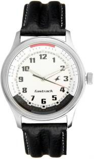 Fastrack NC3001SL01 Gents Leather Watch (NC3001SL01)