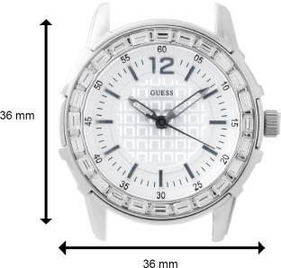 Guess W0018L1 White Dial Analog Women's Watch (W0018L1)