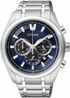 Citizen Eco-Drive CA4011-55L Analog Blue Dial Men's Watch