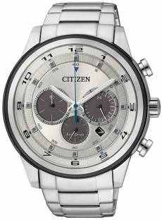 Citizen Eco-Drive CA4034-50A Analog White Dial Men's Watch (CA4034-50A)