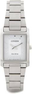 Citizen Eco-Drive EP5910-59A Analog White Dial Women's Watch