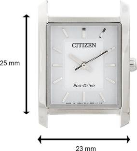 Citizen Eco-Drive EP5910-59A Analog White Dial Women's Watch
