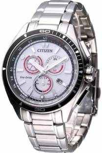 Citizen Eco-Drive AT0956-50A Analog White Dial Men's Watch