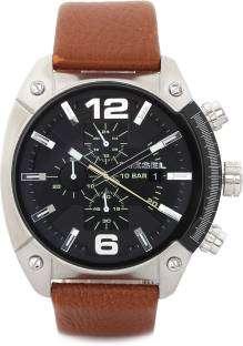 Diesel DZ4296I Overflow luminescent hands Chronograph Black Dial Men's Watch