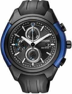 Citizen Eco-Drive CA0288-02E Analog Black Dial Men's Watch (CA0288-02E)