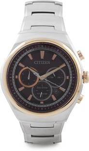 Citizen Eco-Drive CA4025-51W Analog Brown Dial Men's Watch (CA4025-51W)