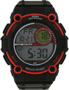 Sonata NH77004PP02J Digital Black Dial Men's Watch