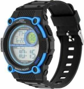 Sonata NH77004PP03J Digital Black Dial Men's Watch (NH77004PP03J)