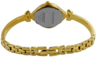 Maxima 22380BMLY Analog Gold Dial Women's Watch (22380BMLY)