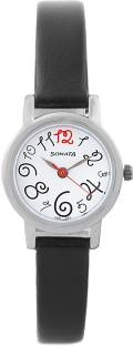 Sonata 8976SL07 Analog White Dial Women's Watch (8976SL07)