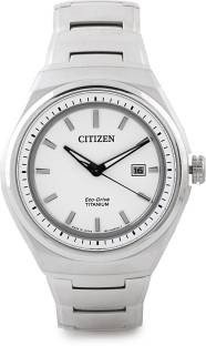 Citizen AW1251-51A Analog White Dial Men's Watch