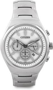 Citizen Eco-Drive CA4021-51A Analog White Dial Men's Watch