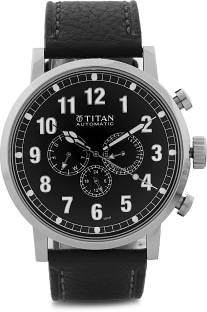 Titan 9498SL01 J Automatic Analog Watch (9498SL01)