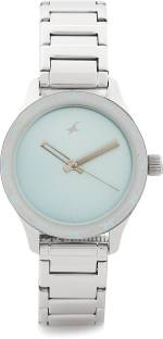 Fastrack NG6078SM03 Monochrome Analog Blue Dial Women's Watch (NG6078SM03)