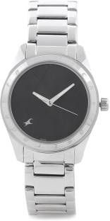 Fastrack NF6057SM03 Upgrades Analog Black Dial Women's Watch