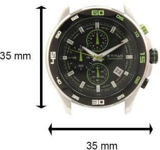 Titan 90008KP02J Analog Watch