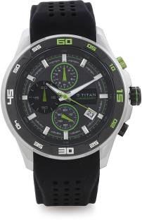 Titan 90008KP02J Analog Watch (90008KP02J)