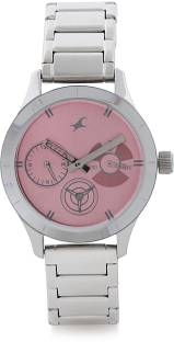 Fastrack 6078SM07 Monochrome Analog Watch