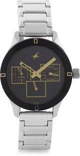 Fastrack 6078SM09 Monochrome Analog Black Dial Women's Watch