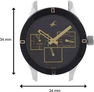 Fastrack 6078SM09 Monochrome Analog Black Dial Women's Watch (6078SM09)