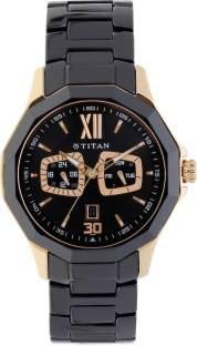 Titan Regalia NH90012KD02 Analog Black Dial Men's Watch