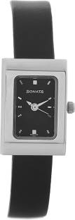 Sonata 8102SL02C Analog Black Dial Women's Watch