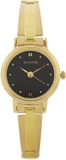 Sonata 8096YM03 Analog Black Dial Women's Watch