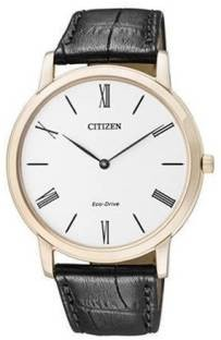 Citizen Eco-Drive AR1113-12B Analog White Dial Men's Watch (AR1113-12B)