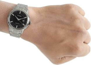 Citizen Eco-Drive AW1080-51E Analog Black Dial Men's Watch (AW1080-51E)