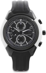 Citizen Eco-Drive CA0286-08E Analog Black Dial Men's Watch (CA0286-08E)