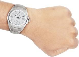 Citizen Eco-Drive BM6880-53B Analog Silver Dial Men's Watch (BM6880-53B)