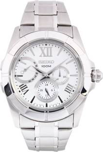 Seiko SNT039P1 Lord Chronograph White Dial Men's Watch (SNT039P1)