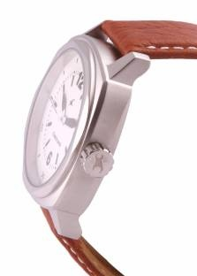 Fastrack 3076SL03 Upgrades Analog Silver Dial Men's Watch (3076SL03)