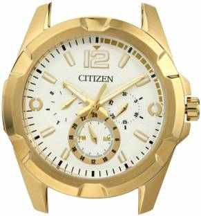 Citizen AG8332-56A Analog White Dial Men's Watch (AG8332-56A)