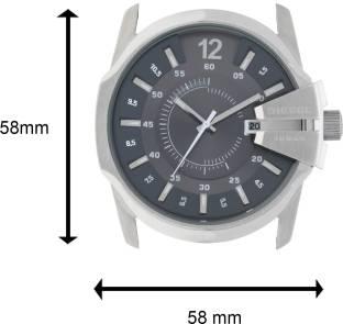 Diesel DZ1206I Gunmetal Toned Dial Watch For Men (DZ1206I)