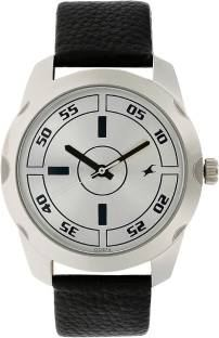 Fastrack NF3123SL01C Casual Analog Silver Dial Men's Watch