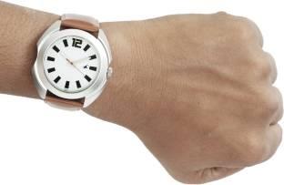 Fastrack NG3117SL01 Casual Analog Silver Dial Men's Watch (NG3117SL01)