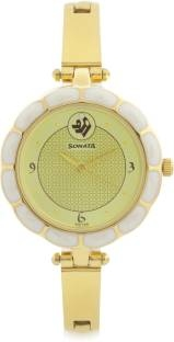 Sonata 8120YM04 Analog Watch