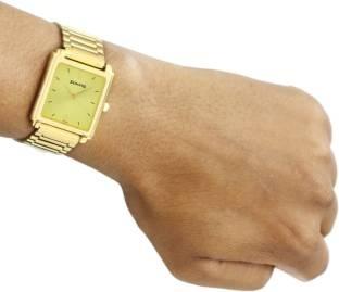 Sonata NG7053YM02AC Casual Analog Gold Dial Men's Watch