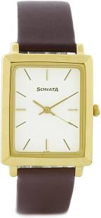 Sonata NH7078YL01C Analog White Dial Men's Watch