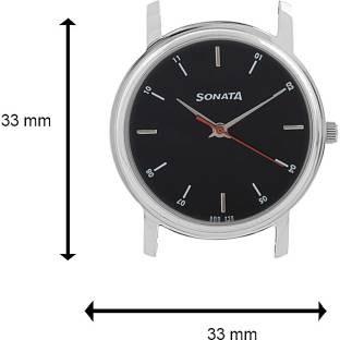 Sonata NH7987SM04CJ Analog Black Dial Men's Watch