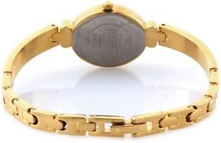 Sonata 8093YM01C Analog Champagne Dial Women's Watch