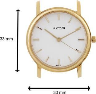 Sonata ND1013YM03C White Dial Men's Watch