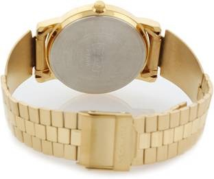 Sonata NF1013YM24 Analog Gold Dial Men's Watch (NF1013YM24)
