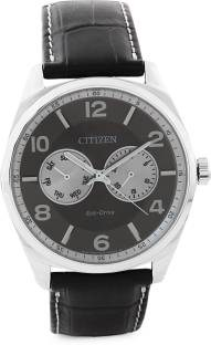 Citizen Eco-Drive AO9020-09H Analog Grey Dial Men's Watch