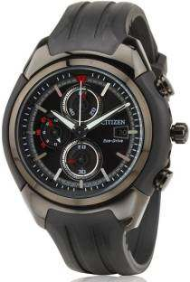 Citizen Eco-Drive CA0285-01E Analog Black Dial Men's Watch (CA0285-01E)