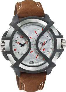 Fastrack 38016PL02 Sport Analog-Digital Silver Dial Men's Watch