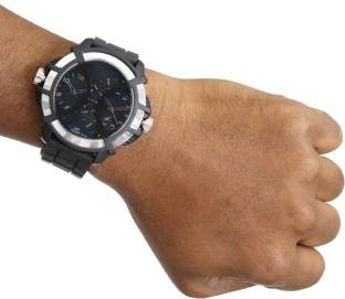 Fastrack NF38016PP01J Sport chronograph Time Blue Dial Men's Watch (NF38016PP01J)
